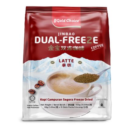 GOLD CHOICE Dual Freeze Coffee - Latte (30g X 15'S)