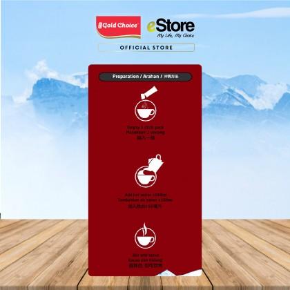 GOLD CHOICE Dual Freeze Coffee - Latte (30g X 15'S)  X 3 Packs In Bundle