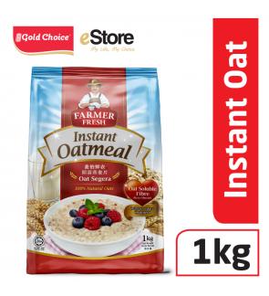 FARMER FRESH Oatmeal Instant - 1kg X 1