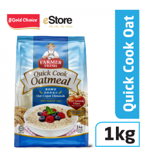FARMER FRESH Oatmeal Quick Cook - 1kg X 1