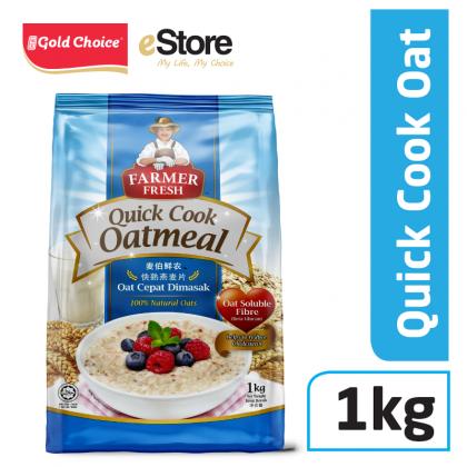 FARMER FRESH Oatmeal Quick Cook - 1kg X 1 [Oat]