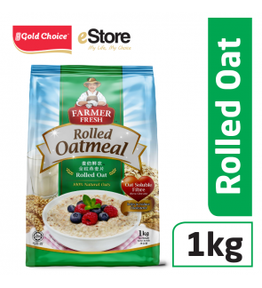 FARMER FRESH Oatmeal Rolled Oats - 1kg X 1