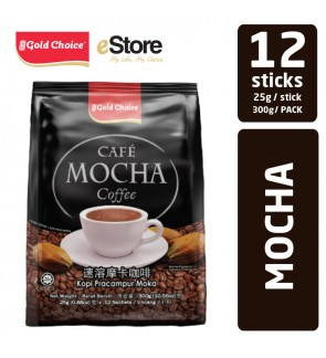 GOLD CHOICE Mocha Coffee - (25g X 12'S)