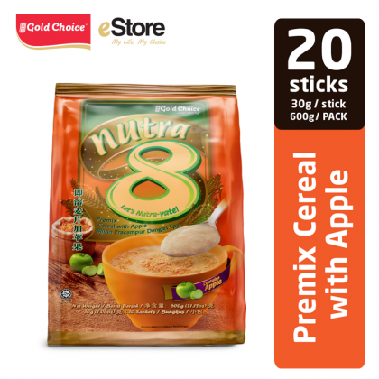 GOLD CHOICE NUTRA 8 Cereal With Apple - (30g X 20'S)