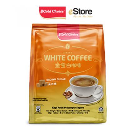GOLD CHOICE JINBAO White Coffee Brown Sugar - (35g X 15'S)