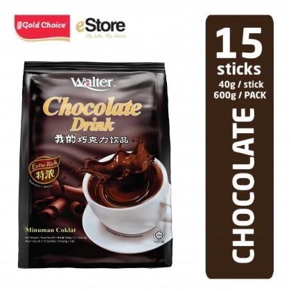 WALTER Chocolate Drink - (40g X 15'S)