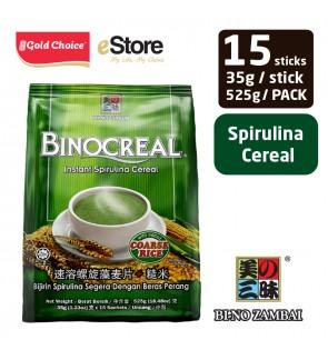 BI-NO ZAMBAI BINOCREAL Spirulina Cereal (35g X 15'S)
