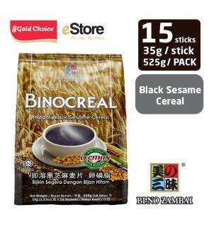 BI-NO ZAMBAI BINOCREAL Black Sesame (35g X 15'S)