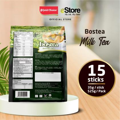 GOLD CHOICE BOSTEA Instant Milk Tea - (35g X 15'S) X 3 Packs In Bundle