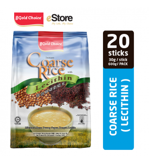 GOLD CHOICE Instant Coarse Rice With Lecithin - (30g X 20'S)