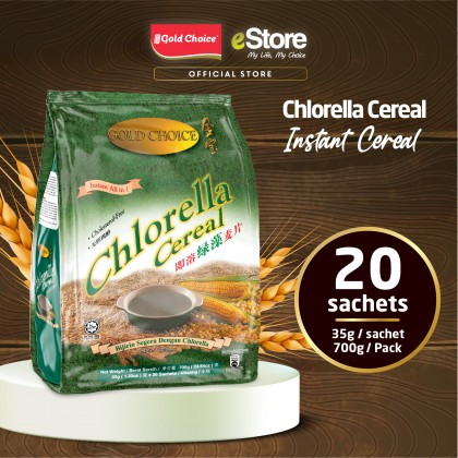 GOLD CHOICE Instant Chlorella Cereal - (35g X 20'S)