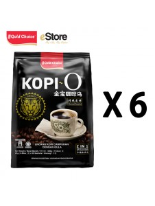 GOLD CHOICE Kopi O - (25g X 20'S) X 6 Packs Bundle