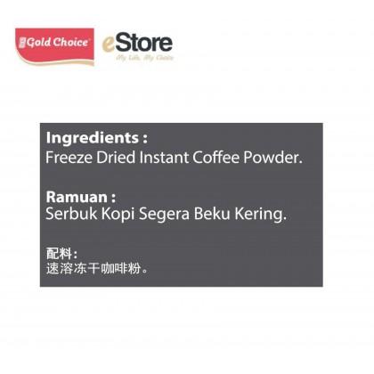 GOLD CHOICE Dual Freeze Freeze Dried Black Coffee - Americano Classic (2g X 30'S)